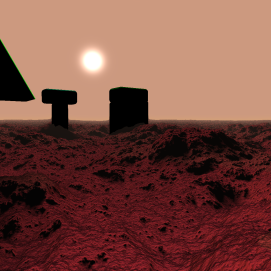 Martian Scene 5