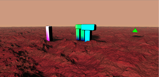 Martian Scene 6