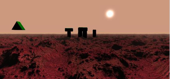 Martian Scene